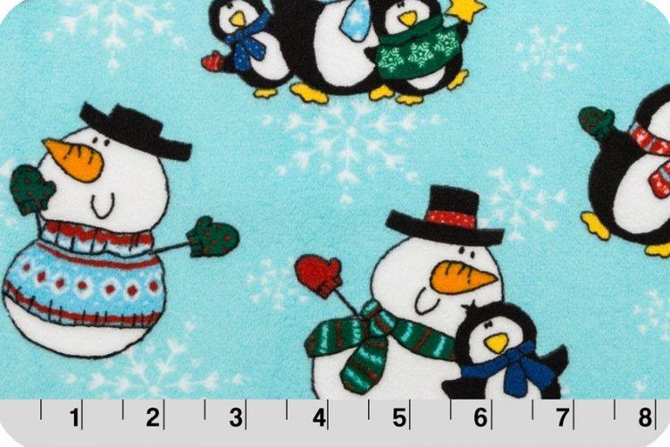You-Pick Snuggle Blanket  Penguins