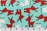 You-Pick Snuggle Blanket Top - Reindeer