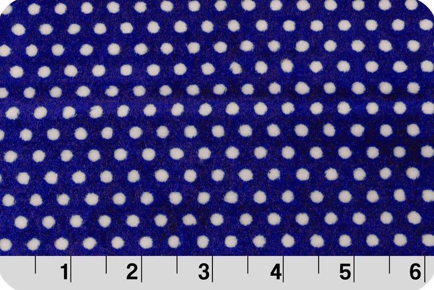 Swiss Dot Midnight 45 x 60