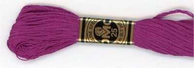 Embroidery Floss 8.7 YD Dk Fucshia