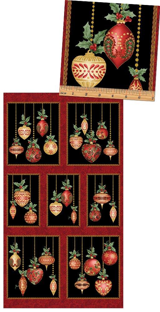A Fesitive Season Ornaments PNL BLK