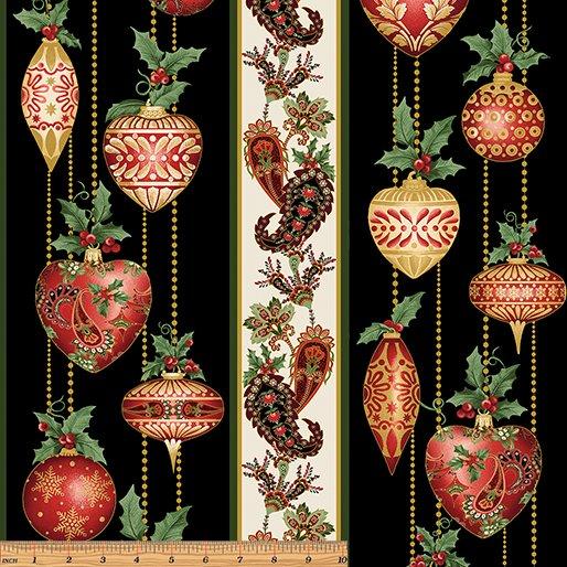 A Festive Season Ornaments STR BLK