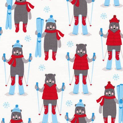 Frosty Friends Bears A/O Snow