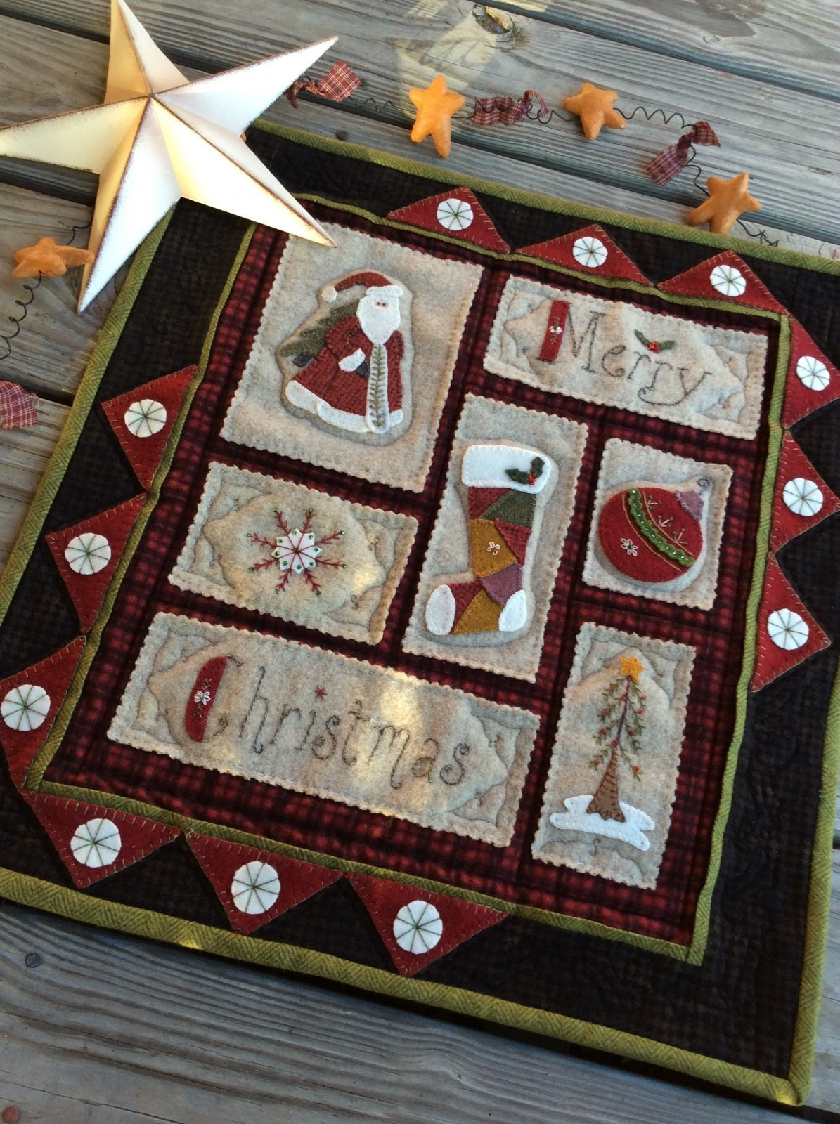 Calico Christmas Sampler Complete Pattern Set