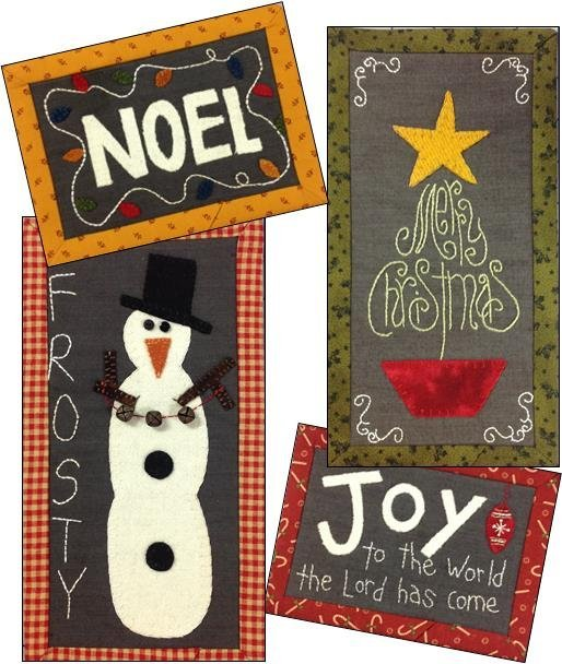 Christmas Chalk Mini's