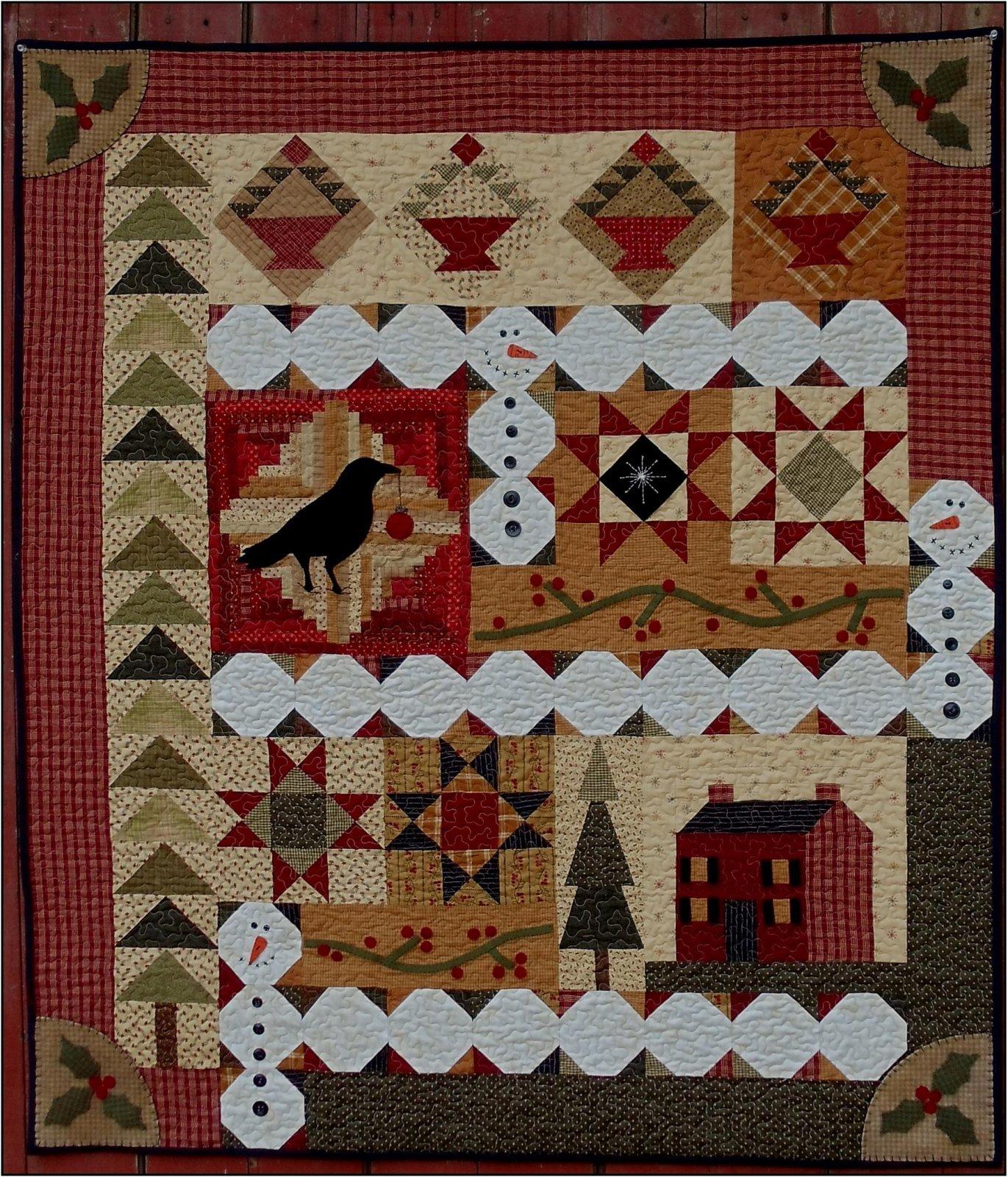 Christmas Sampler 44 x 52