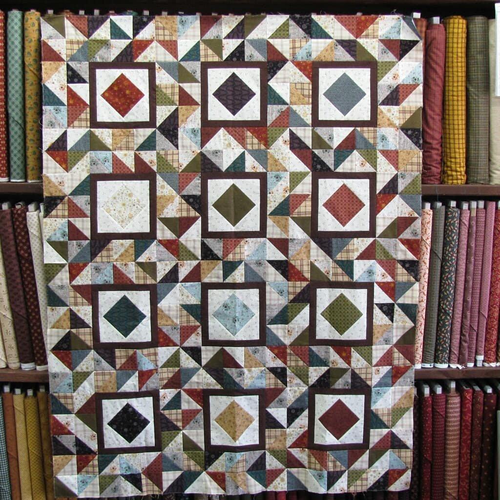 Devon County Quilt 51 x 56