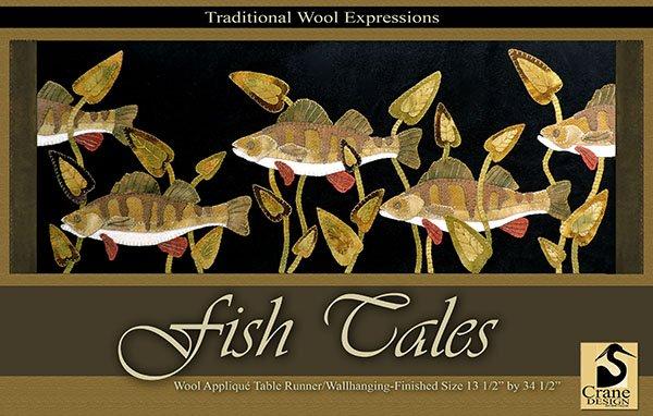 Fish Tales 13.5 x 34.5