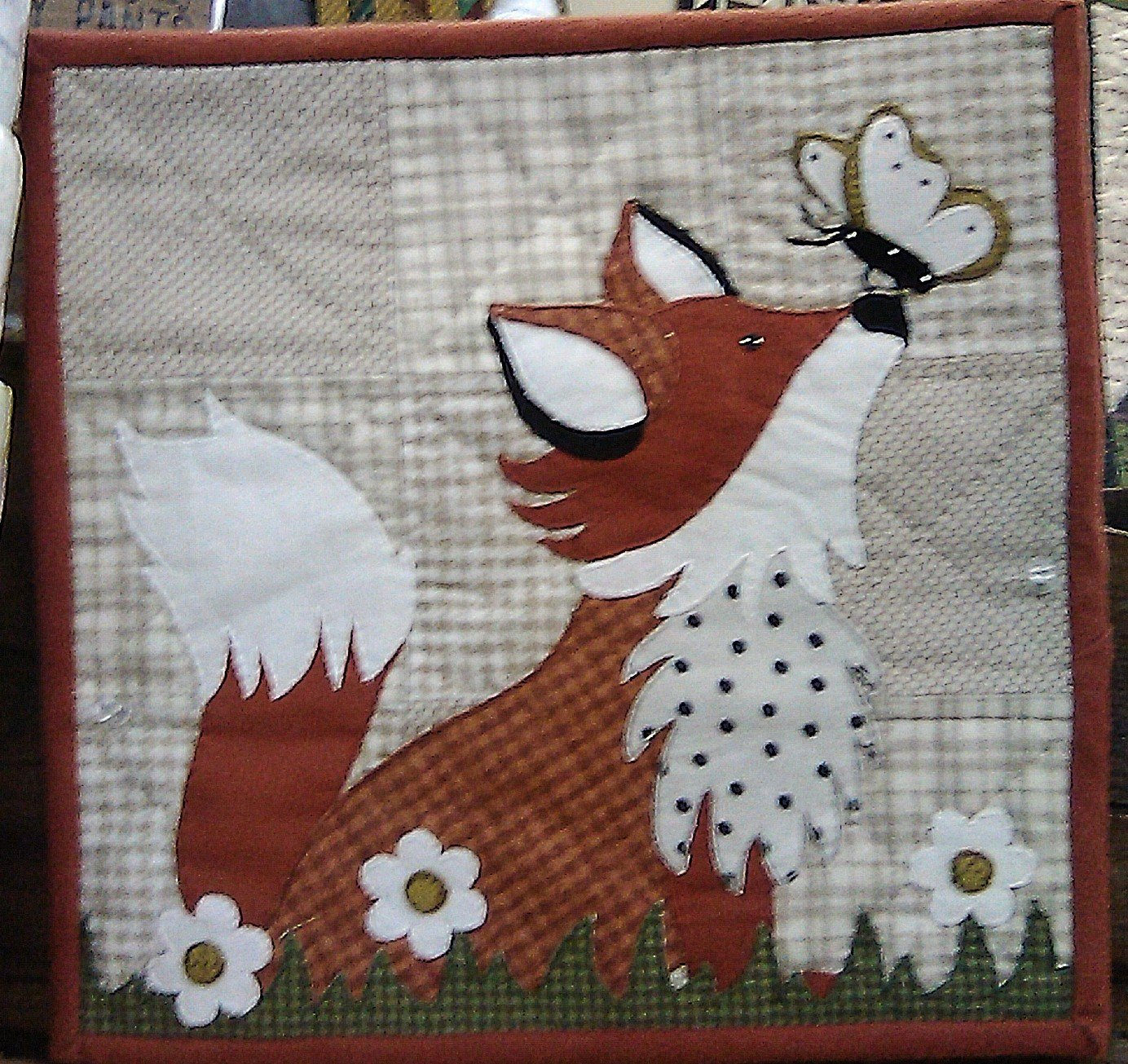 Little Quilts Squared August - Frolicking Fox Kit 12 x 12