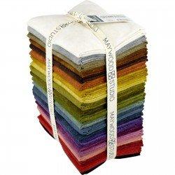 Color Wash Woolies Flannel  FQ Bundle 21 pcs