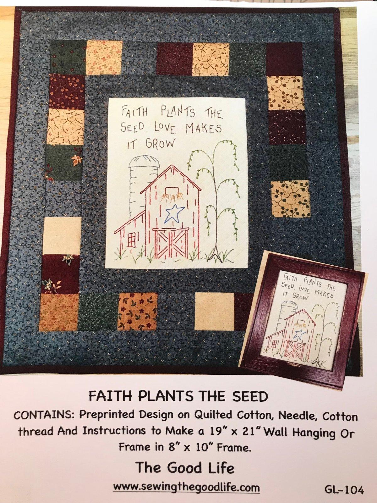 Faith Plants the Seed
