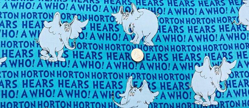 Horton Hears a Who Words A/O