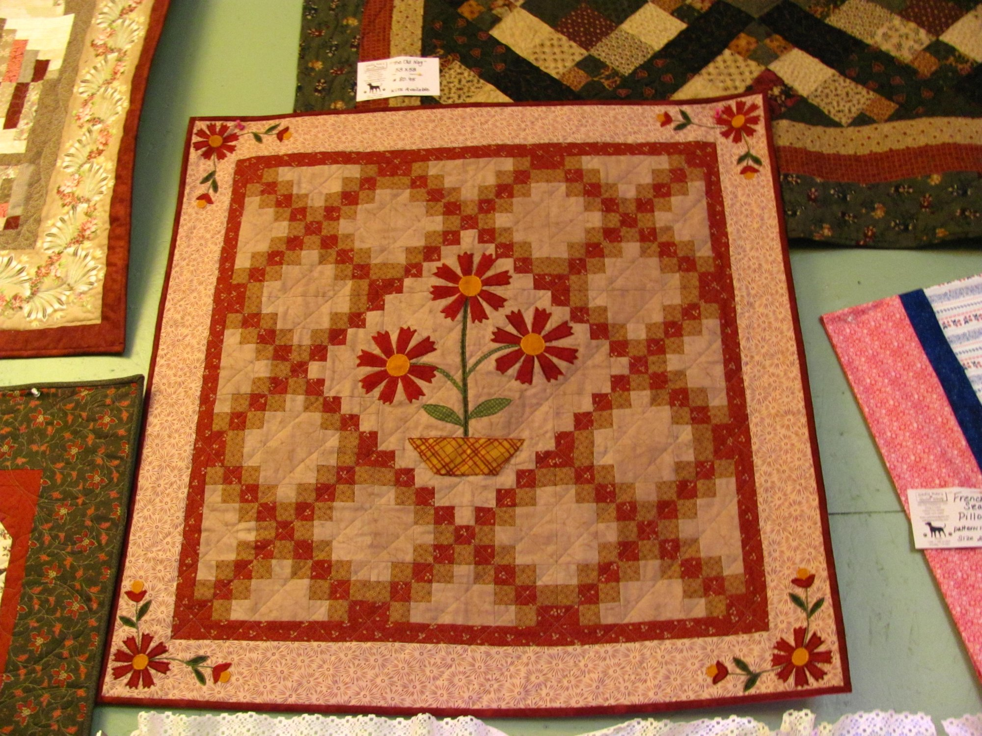 Flowers for Bailey Kit 36 x 36