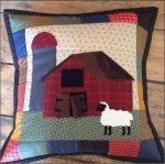 January on the Farm 16 Pillow