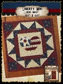 Liberty Mini  Quilt Kit 12.5 x 12.5