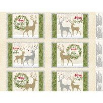 Holiday Meadow 4 Placemat Panel