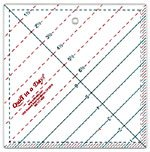 6 1/2 Triangle Square Up Ruler