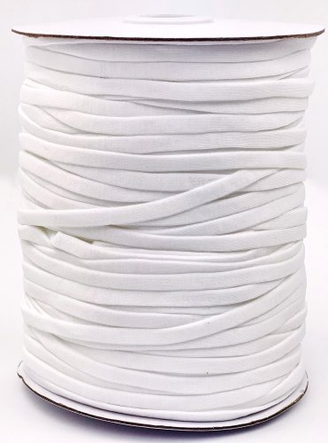 Elastic Soft Spool White