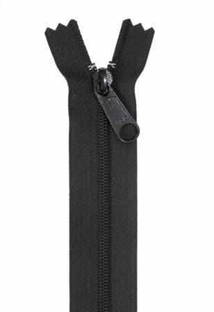 Handbag Zippers 24 Black