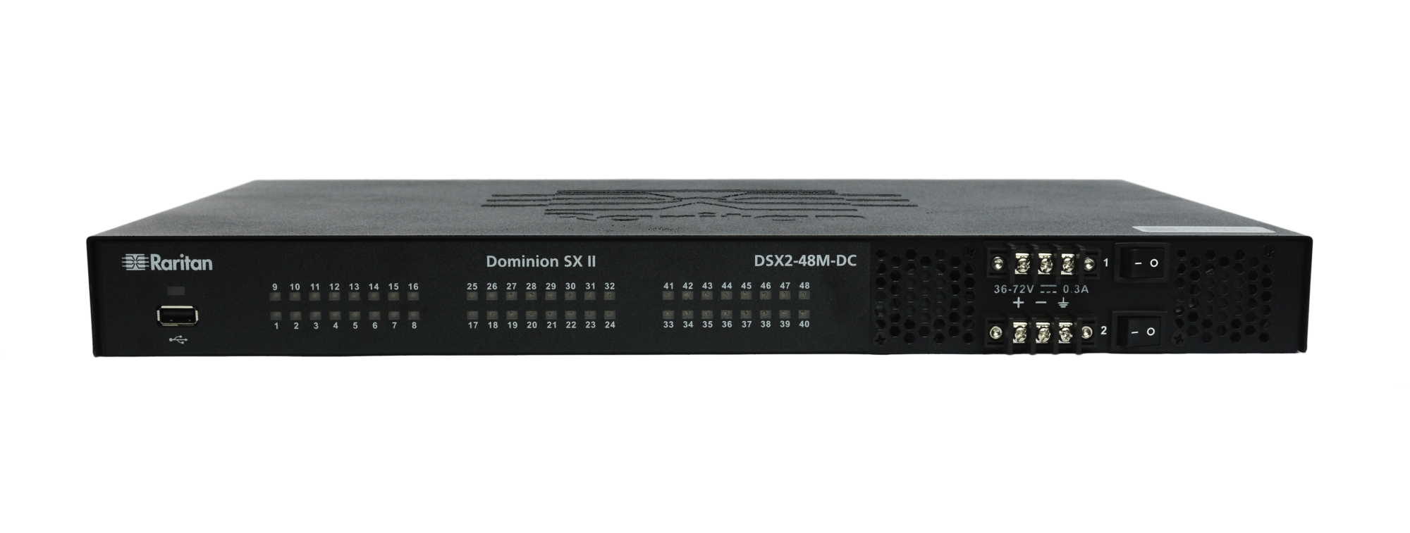 Raritan DSX2-48M Serial Console Server w/Modem