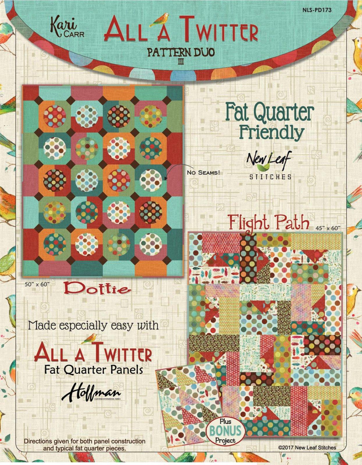All a Twitter: Pattern Duo III