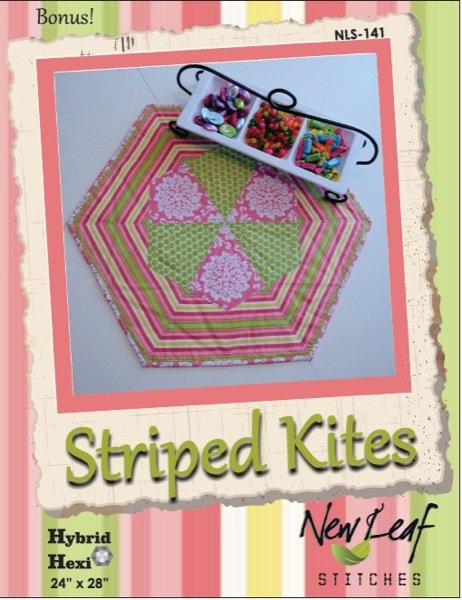 Hybrid Hexi-Striped Kite