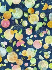 With a Twist Citrus Navy Focal