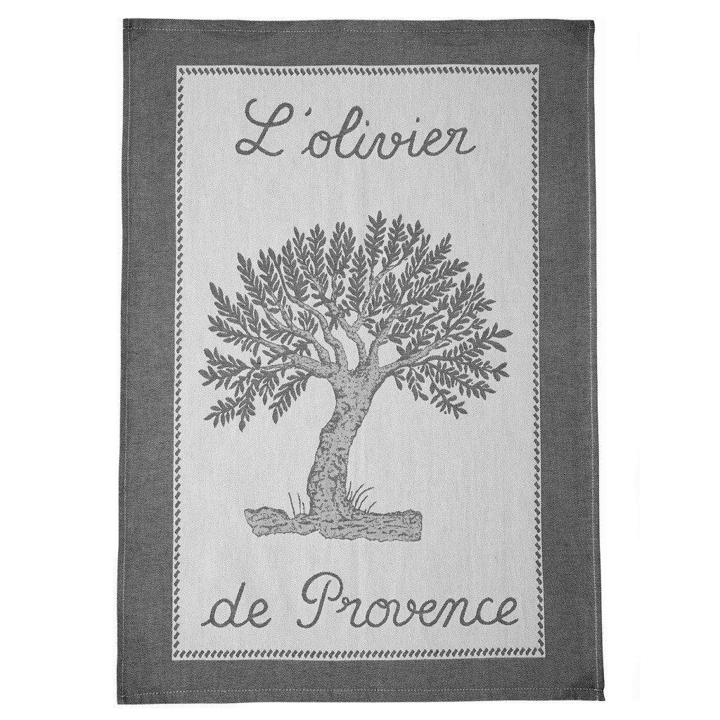 Coucke L'olivier de Provence tea towel #1