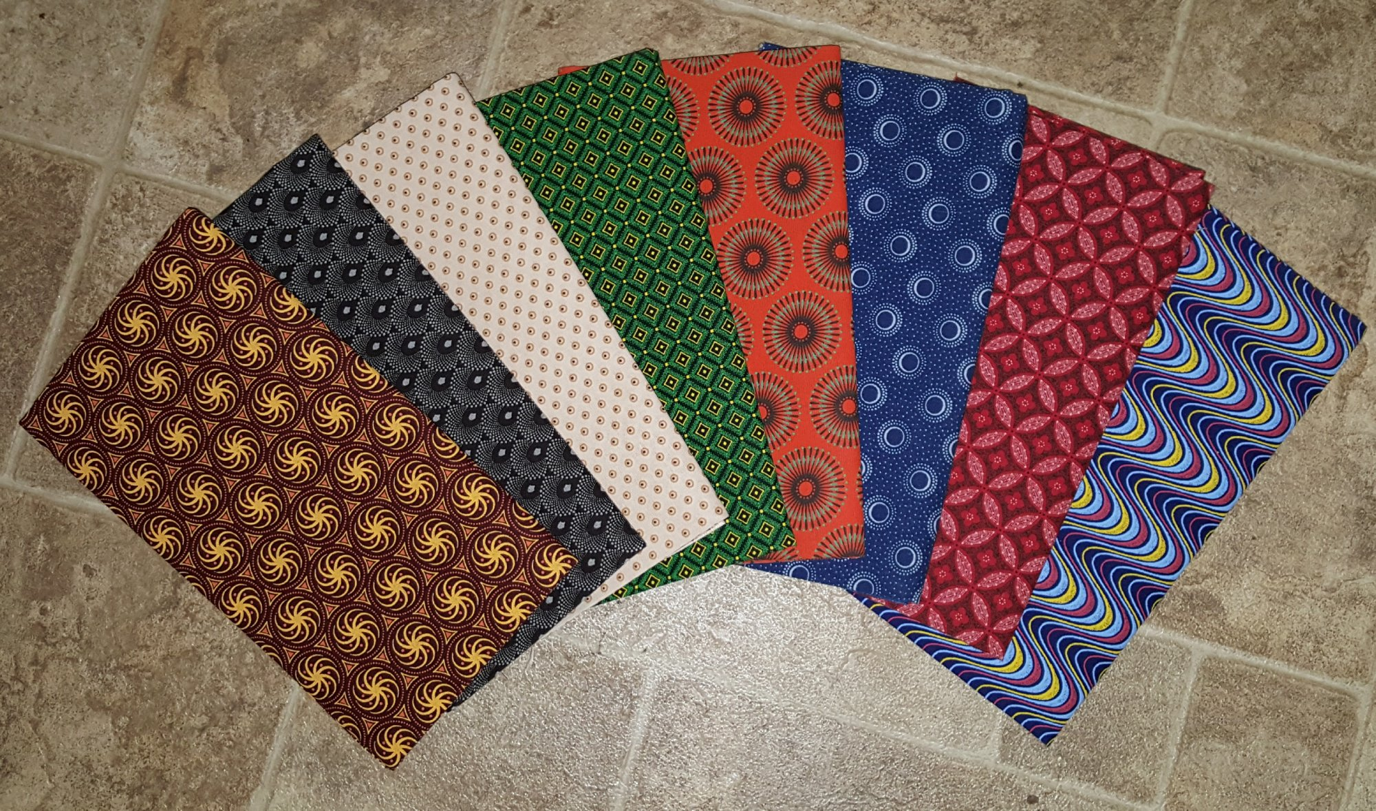 Monthly Shweshwe Fat Quarter Club