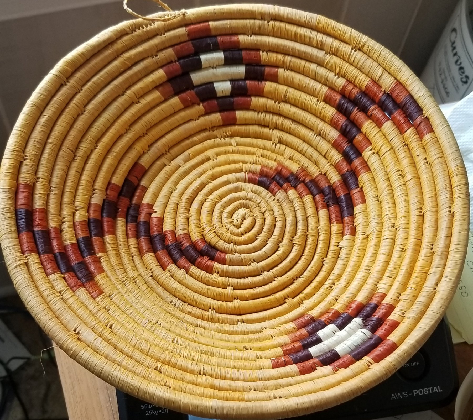 10 Uganda Basket Multi-Colored Small #004
