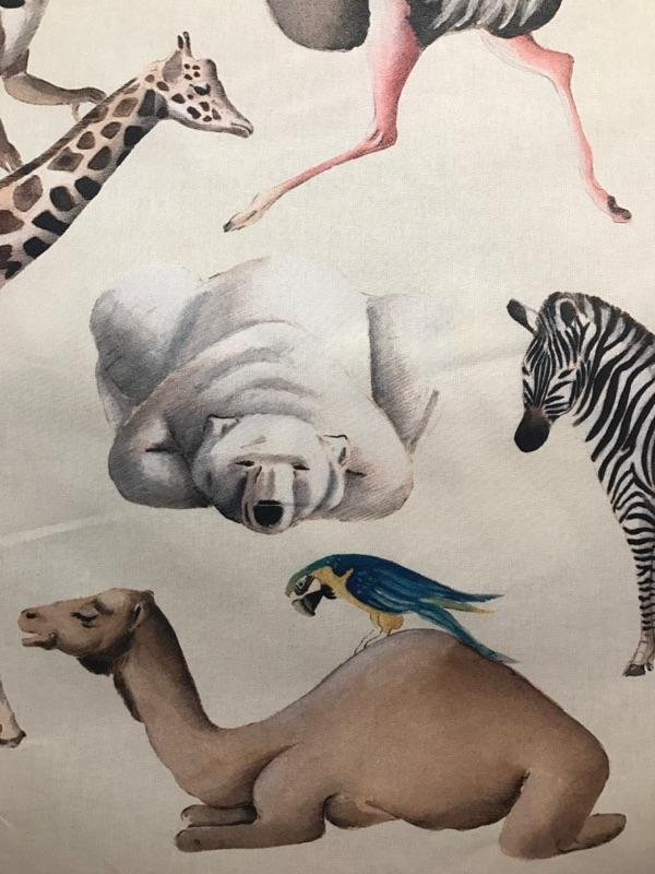 54 Exotic Animal fabric # 82