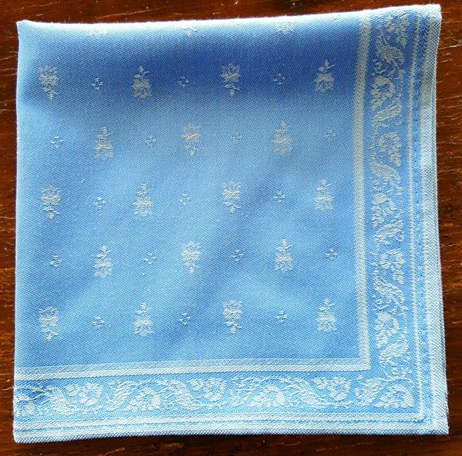 Bastide Jaquard Napkin (Blue)