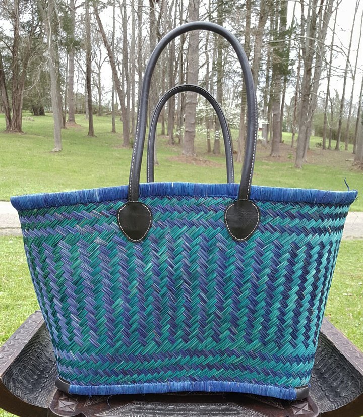 Madagascar Basket - Blue/Teal
