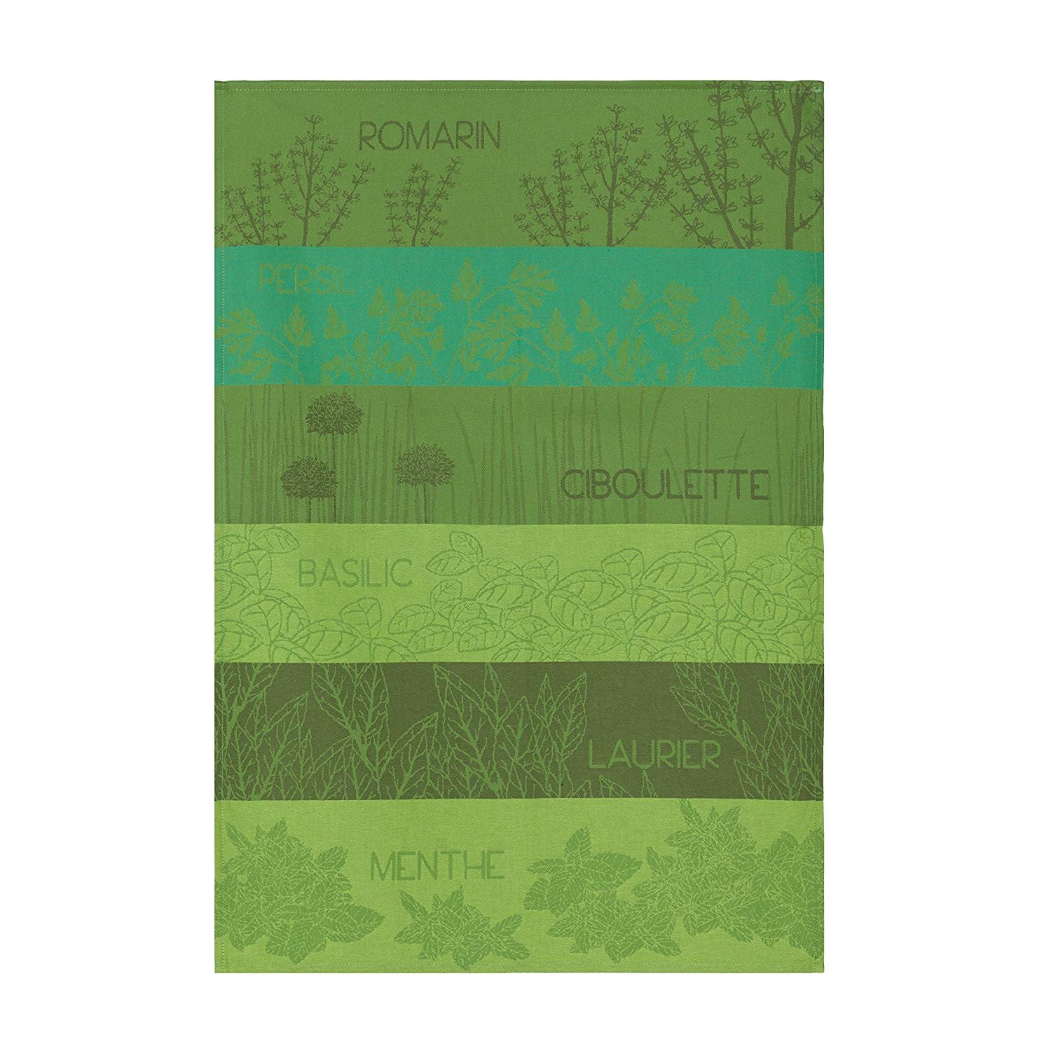 Coucke Aromatic Herbs Tea Towel