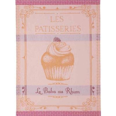 Coucke Baba au Rhum tea towel