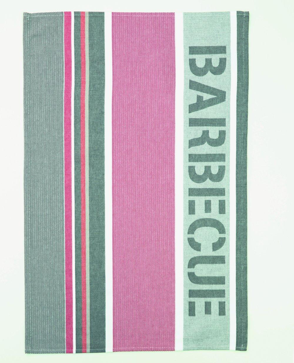Coucke Barbecue tea towel #1