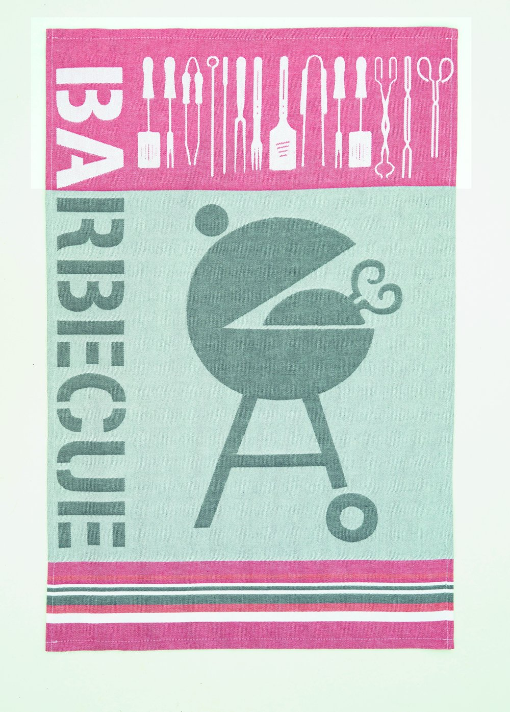 Coucke Barbecue tea towel #2