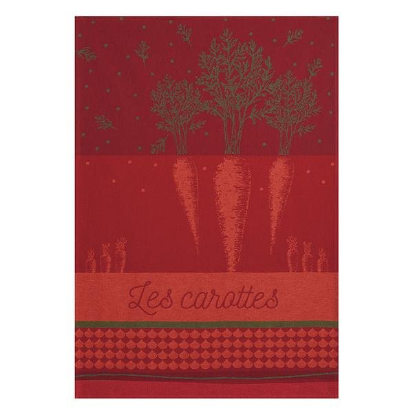 Coucke Rich Carrot tea towel
