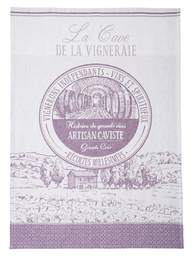 Coucke Wine tea towel