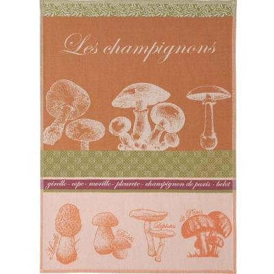 Coucke tea towel with Mushrooms