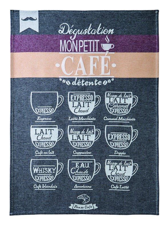 Coucke Espresso tea towel #2