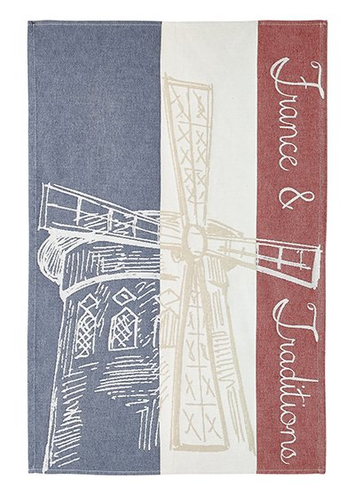 Coucke French Traditions tea towel #1