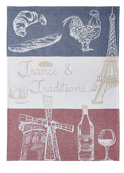 Coucke French Traditions tea towel #2