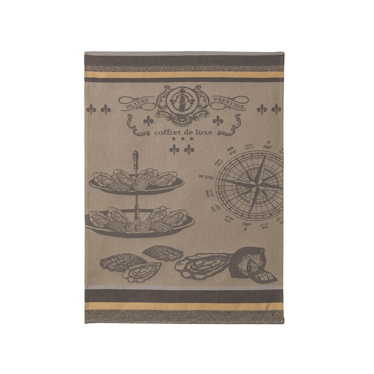 Coucke Oysters tea towel