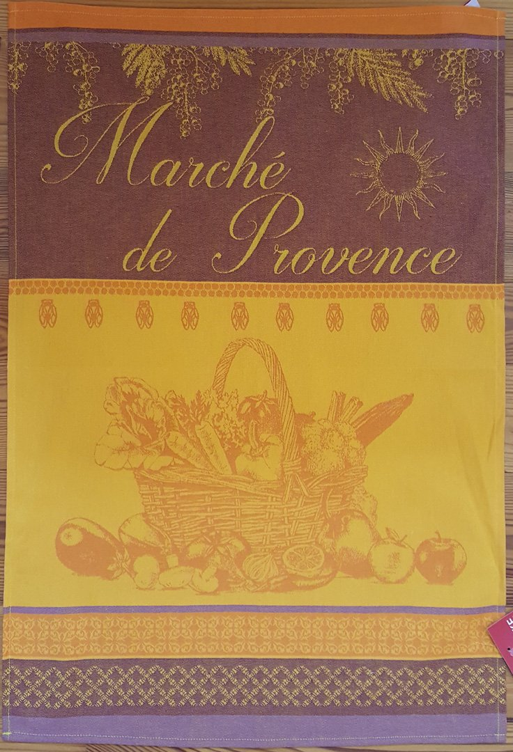 Coucke Provence Market tea towel