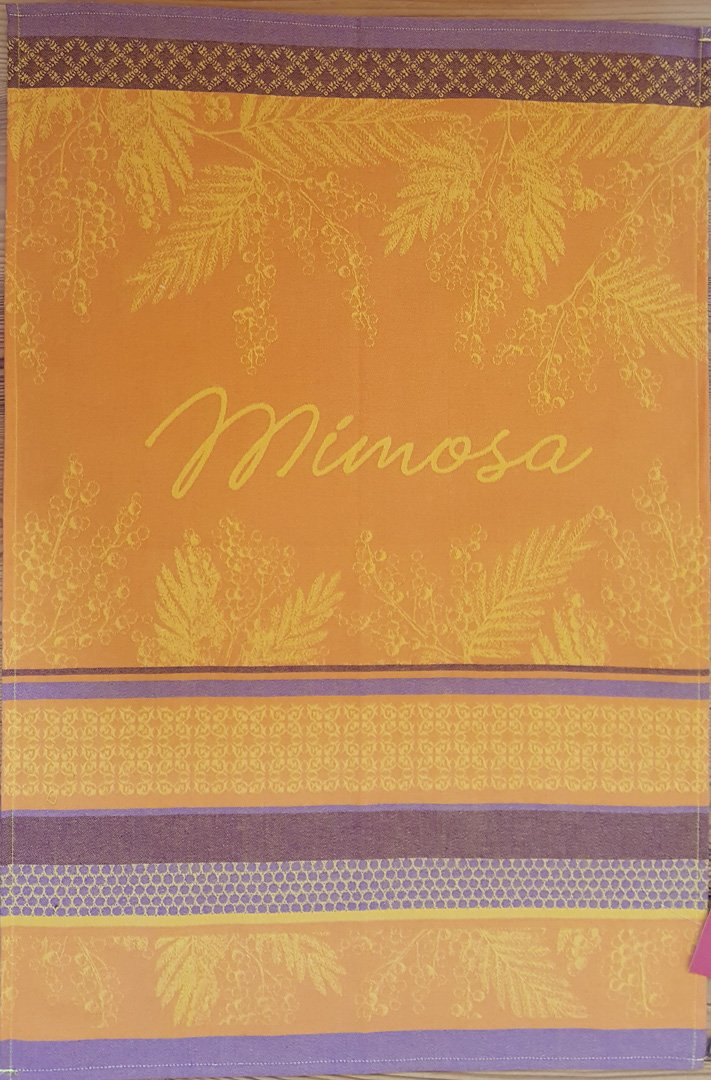 Coucke Mimosa tea towel