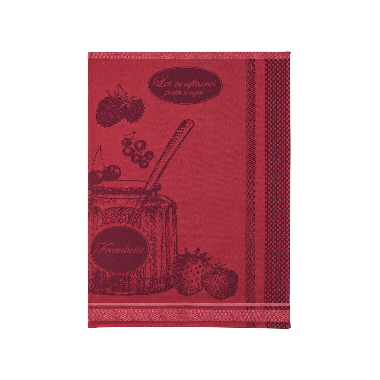 Coucke Jam Pot tea towel