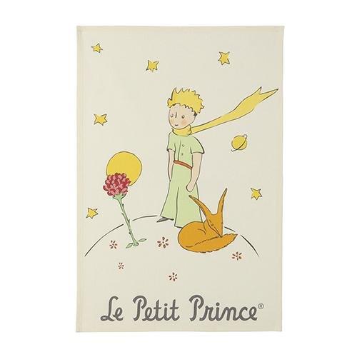 Coucke Le Petit Prince Flower and Fox Tea Towel