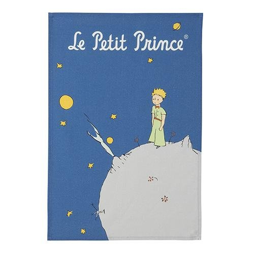 Coucke Le Petit Prince Planet tea towel