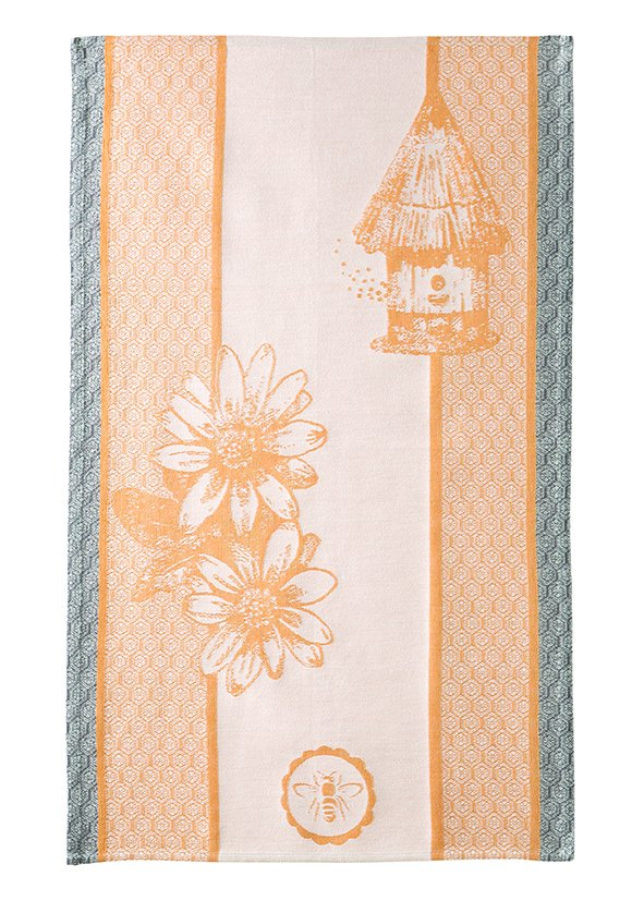 Coucke Honey Bee tea towel #2